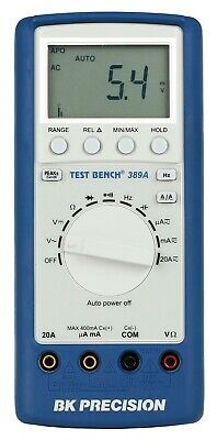 Bk Precision 389a Test Bench Dmm In New Rubberized Case Clearance