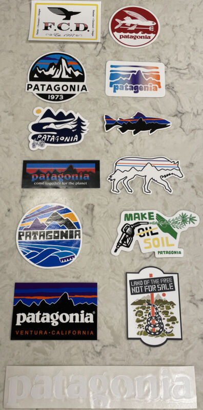 Patagonia Sticker Package (13 Stickers)
