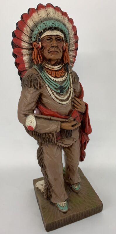 V Kendrick Universal Statuary Chicago 1976 Indian Figurine