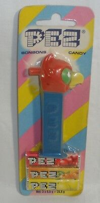 Pez Parrot MMM Whistle Euro card Factory Sealed on card