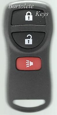 Replacement Keyless Entry Remote Fits 2004 2005 2006 2007 2008 Infiniti QX56