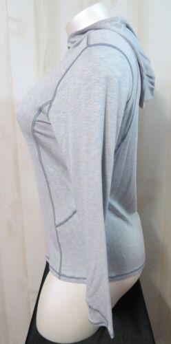 Women Athletic Hoodie Pull OverTop Sz XL 16-18 Danskin Long Sleeve Thumb Holes