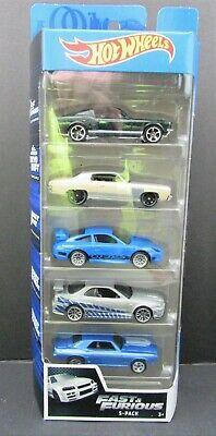 2020 Hot Wheels - Fast & Furious 5-PACK - Nissan - Mustang - Camaro Monte Carlo