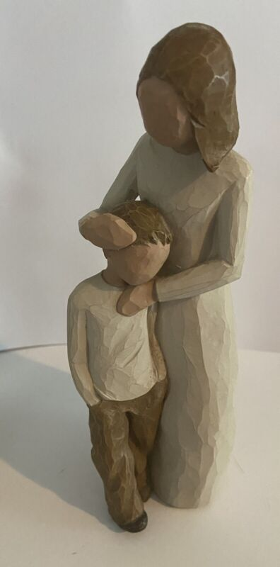 Willow Tree Mother and Son Figurine 2002 Susan Lordi Demdaco Statue MINT No box.