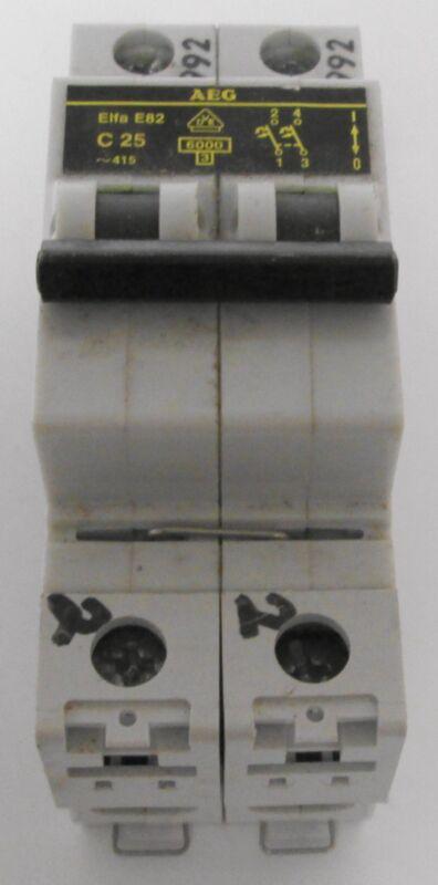AEG Elfa E82 C25 Circuit Breaker
