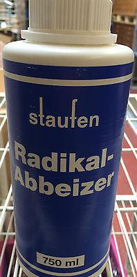 (€13,33/1L) Staufen Radikalabbeizer 750ml 2K Abbeizer Farbabbeizer Farbentferner