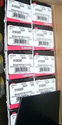 Kaba Ilco D11026d Dummy Mortise Cylinder Commercial 26d Full Box Of 10 New 1 In