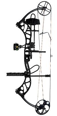 New Bear Archery Wild RTH 70# Right Hand Bow Package Shadow Black Series