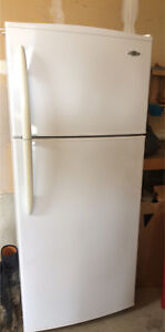 Maytag white fridge