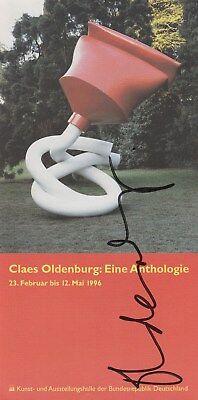 CLAES OLDENBURG --- original signiert - 6#21