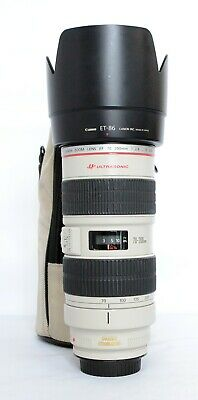 Canon EF 70-200mm f/2.8 L IS USM Lens ( with case)