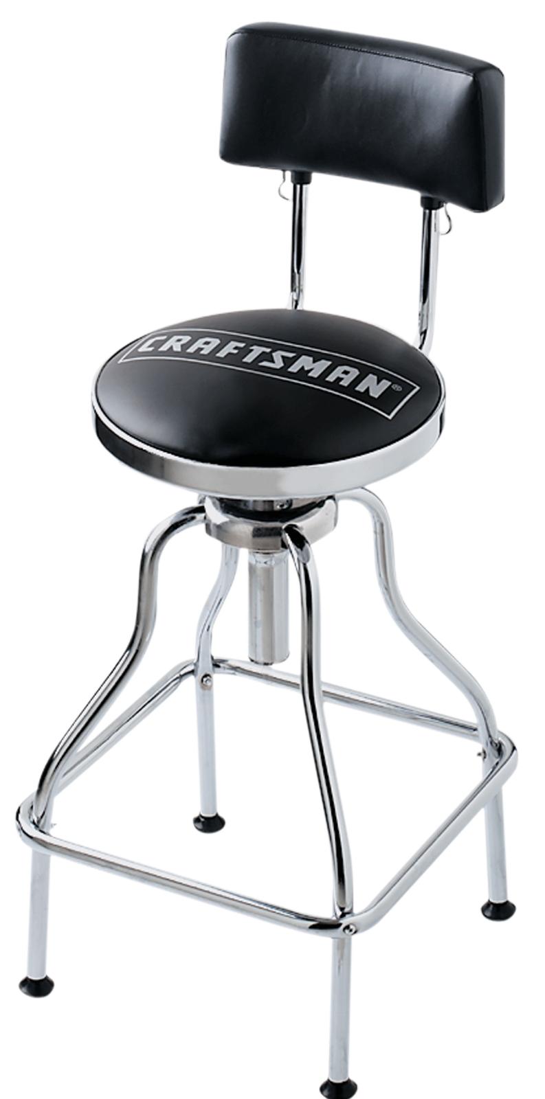 Craftsman Black Adjustable Hydraulic Seat New 49860 For