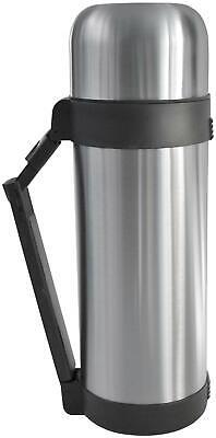Thermoskanne 1L mit Griff auslaufsichere Thermoflasche mit Becher Trinkflasche