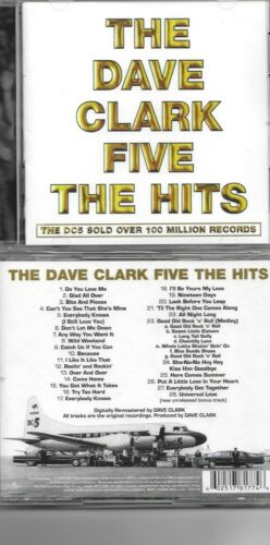 DAVE CLARK FIVE-THE HITS-NEW SEALED CD-28 CUTS-OUT OF PRINT-WAREHOUSE FIND