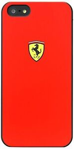 Apple Iphone 5 5S 5SE Ferrari Cell Phone Case CG Mobile FESCHCP5RE Original
