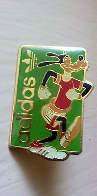 Goofy in Adidas running shoes pin vintage Walt Disney