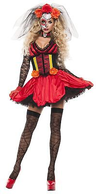 Starline Women's Cinched Day of The Dead Costume - Women Day Of The Dead