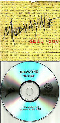 MUDVAYNE Dull Boy w/ RARE EDIT 2007 TST PRESS PROMO DJ CD single USA MINT