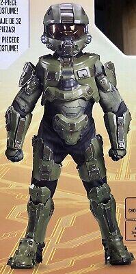 Master Chief Costume For Kids (Halo Master Chief Ultra Prestige Costume for Kids (Size L)