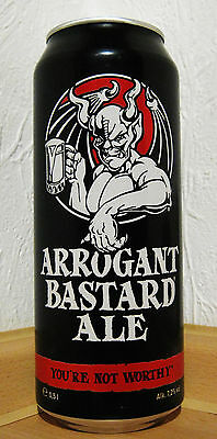 STONE - ARROGANT BASTARD ALE 2016 - YOU'RE NOT WORTHY ( EMPTY / LEER )