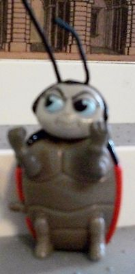 McDonald's A Bug's LifE WIND UP WALKING LADYBUG  FRANCIS  3 INCH TOY FIGURE