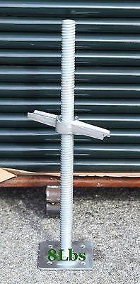 Cbmscaffold 24 Scaffold Frame Leveling Screw Jacks 1 38 Stem With Base Plate