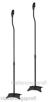 Paar Lautsprecherständer Boxenständer Höhenverstellbar z.B. für Bose, Teufel usw