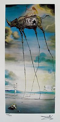 Salvador Dali CELESTIAL RIDE Facsimile Signed & Numbered Art Giclee