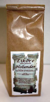Holunder Likör Ansatz 210 g Fruchtig selber machen 1kg/23,33€ Tee-Meyer g1