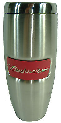 New Budweiser Stainless Steel Tumbler Beer Travel Mug Thermo