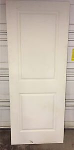 One 2-Panel Hollow Interior Slab Door