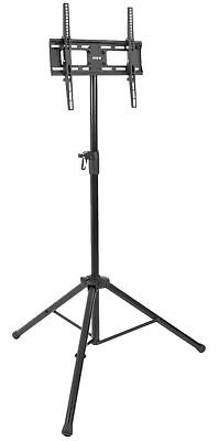 VIVO Black Tripod TV Display Portable Floor Stand Height Adj