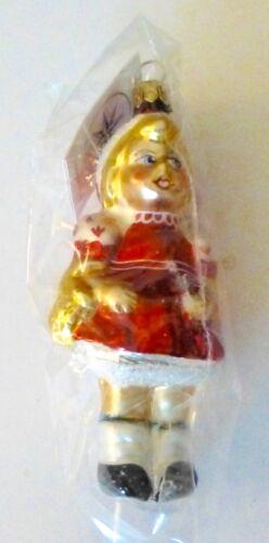 Christopher Radko 1995 LITTLE RED Christmas Ornament...Germany