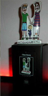 James Rizzi POP ART Goebel Porzellan limitierte Auflage Design Familie unbesch.