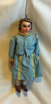 Marionette Holz angekleidet alt