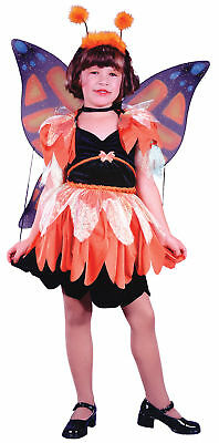 Butterfly Ballerina Costume (Butterfly Ballerina Child Girls Insects Fairy Costume Halloween Fancy)
