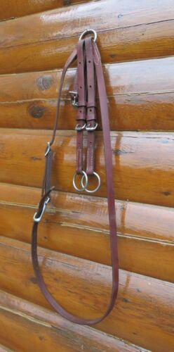 WEAVER Leather Running Martingale Draw Reins, Used only few times