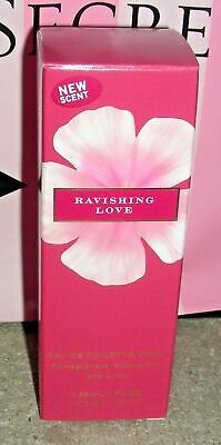 Victoria's Secret RAVISHING LOVE EAU DE TOILETTE EDT SPRAY 1 OZ 30 ML NEW ()