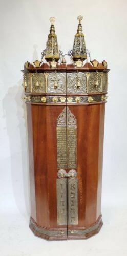 Torah Sfaradi Sefer Torah scroll vintage Jewish Torah 280 years old from Tunis