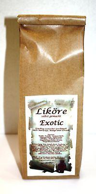 Exotic Likör Ansatz 180 g fruchtig selber machen 1kg/27,22€ Tee-Meyer g1