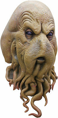 NEW Davy Jones Octopus Sea Monster DELUXE ADULT LATEX CEPHALOID CREATURE MASK