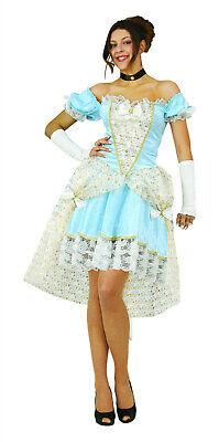 Kleid Kostüm Barock Rokoko Barockkleid hellblau Sky Prinzessin Gr.S-XL - Rokoko Kleid Kostüm