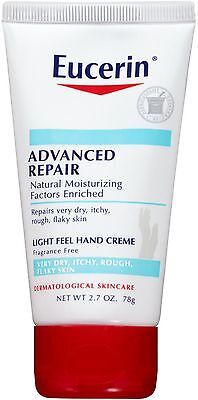 Eucerin Advanced Repair Hand Creme 2.7 oz (Pack of 2)