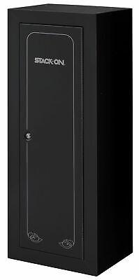 Stack-On 14 Gun Ammo Security Cabinet Storage Safe , Black