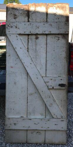 Vintage Wood Barn Door Reclaimed Lumber Architectural Salvage Hardware Siding