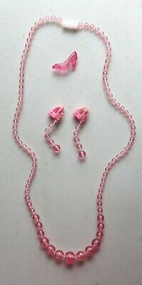 Pretty Pretty Princess Cinderella Jewelry Dress-Up Pink Necklace Earrings Shoe ()