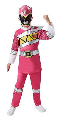 Rubies Kinder Kostüm Pink Power Ranger Deluxe Mädchen - Deluxe Power Ranger Kostüme