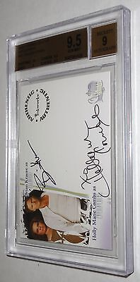 Charmed Dual Autograph HOLLY MARIE COMBS BRIAN KRAUSE PIPER LEO BGS 9.5 GEM 2006