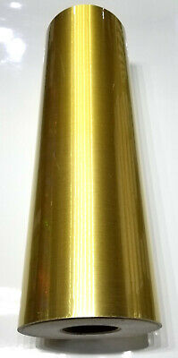 Gold Brushed Sign Plotter Cutter Vinyl Roll