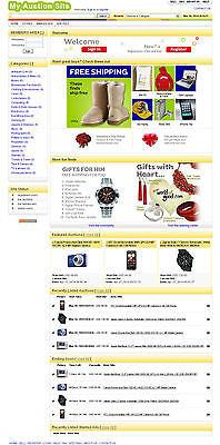 Auction Website - Ebay Clone